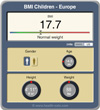 BMI children Europe